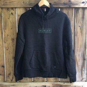 HURLEY Medium black pullover sweatshirt hoodie